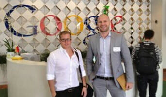 Gary and Andrew Visit Google's Headquarters in California