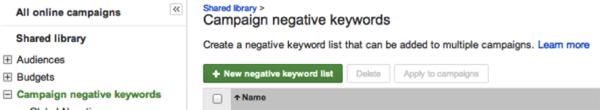how negative keywords work 1
