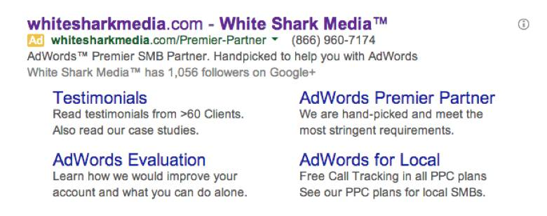 Use Social Extensions - White Shark Media