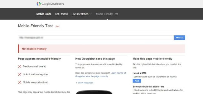Google mobile-friendly test tool - White Shark Media Blog