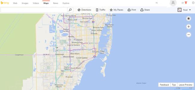 The Re-birth of Bing Maps - White Shark Media