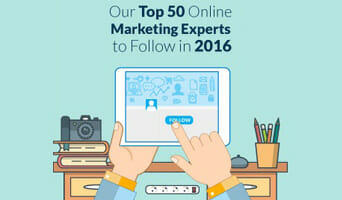 Our Top 50 Online Marketing Experts to Follow in 2016