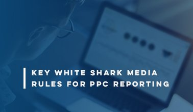 Key White Shark Media Rules for PPC Reporting