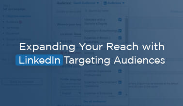 Expanding Your Reach with LinkedIn Targeting Audiences