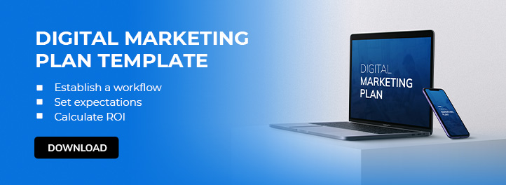 Digital Marketing Plan Template - CTA