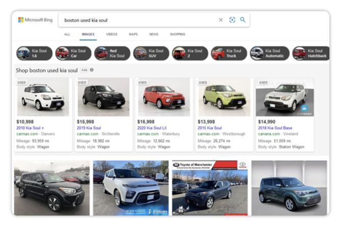 Microsoft Automotive Inventory Ads