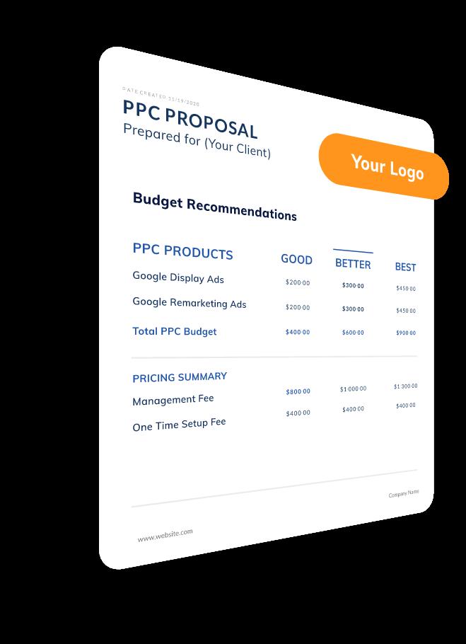 PPC Proposals generator